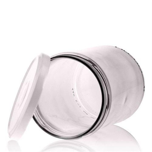 440ml Pot in vetro retto con tappo a vite Twist Off 82