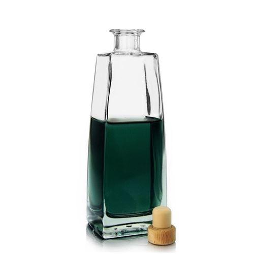 """500ml bottiglia in vetro chiaro """"Timmy"""""""