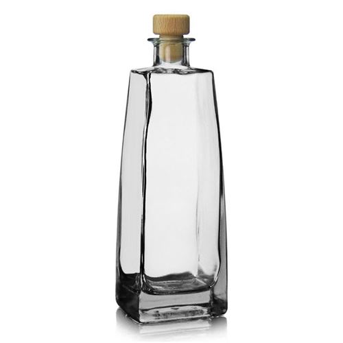 "500ml bouteille verre clair ""Timmy"""