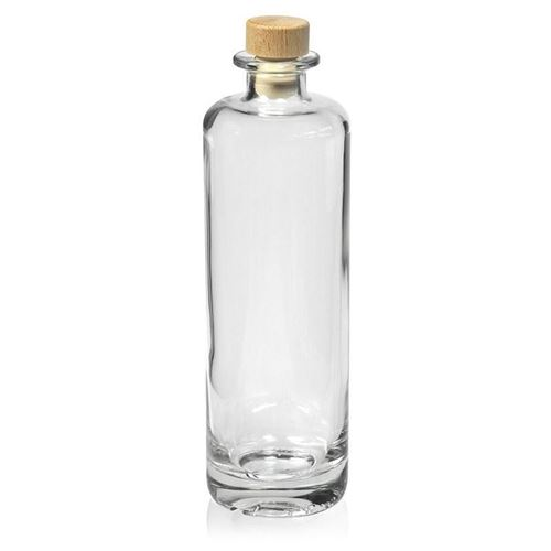 "500ml Bottiglia in vetro chiaro ""Alberto"""