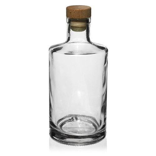"""500ml Bottiglia in vetro chiaro """"Caroline"""""""