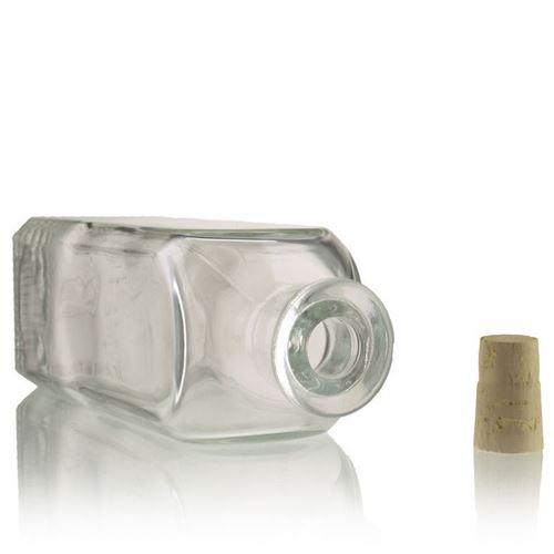 """500ml Bottiglia in vetro chiaro """"Sandy"""""""