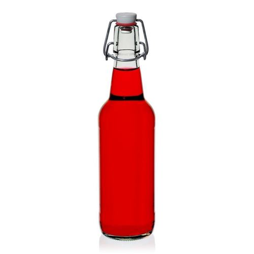 "500ml Klarglasflasche ""Bendolino"""