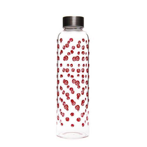 """500ml Glastrinkflasche """"Roter Wirbelwind"""""""