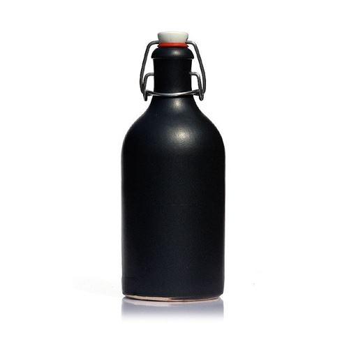 500ml Keramikflaske med patentlåg, matsort