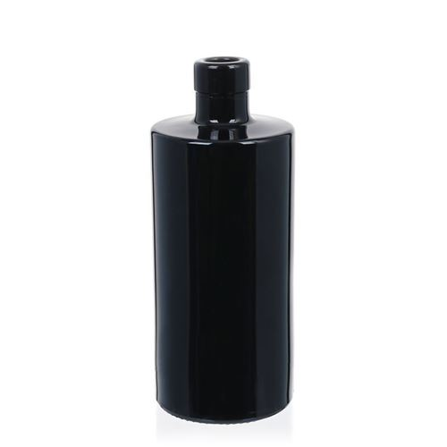"500ml Schwarzglasflasche ""Carla"""
