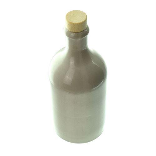 500ml Steinzeugkrug Kork weiß