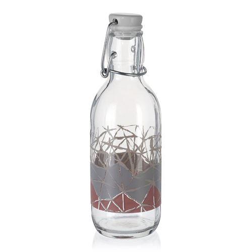 """500ml bedruckte Bügelverschlussflasche """"Manolibera"""""""