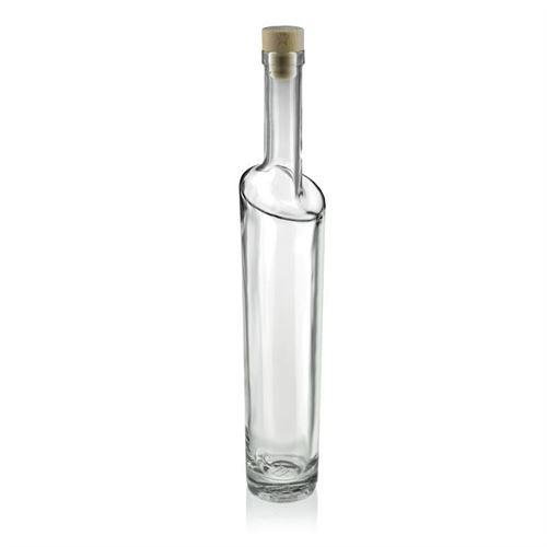 """500ml Bottiglia in vetro chiaro """"Feeling"""""""