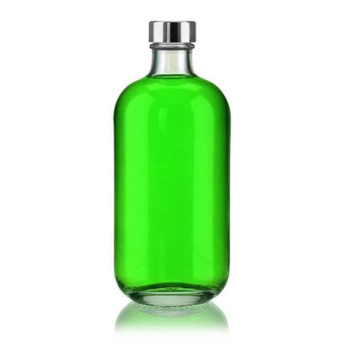 """500ml bouteille en verre clair """"Lotto"""" avec fermeture GPI"""