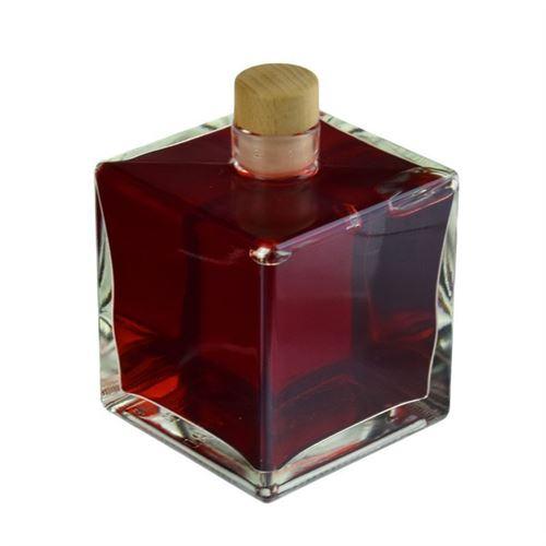 """500ml Bouteille en verre clair """"Cube"""""""