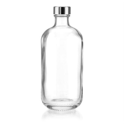 """500ml flaske i klart glas """"Lotto"""" GPI-skruelåg"""