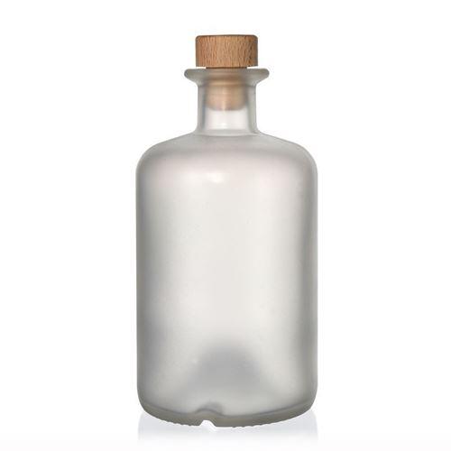 500ml frostet/matteret apotekerflaske