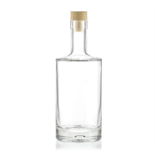 """500 ml klar glasflaske """"Homeland"""", med korkprop"""