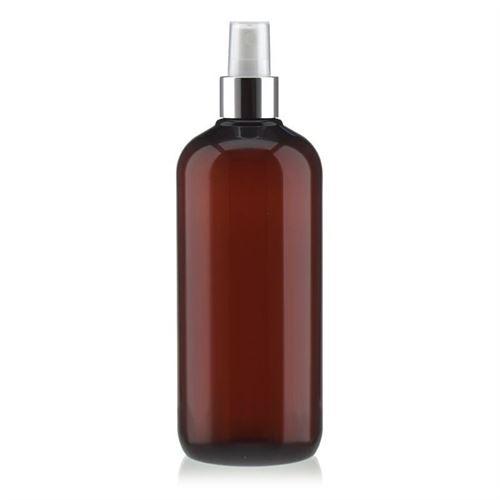 """500 ml brun PET-flaske """"Victor's Best"""", med sprayhoved"""