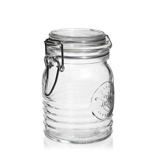 """500ml beugelsluitiing glas """"Bormioli Seria 1825"""""""
