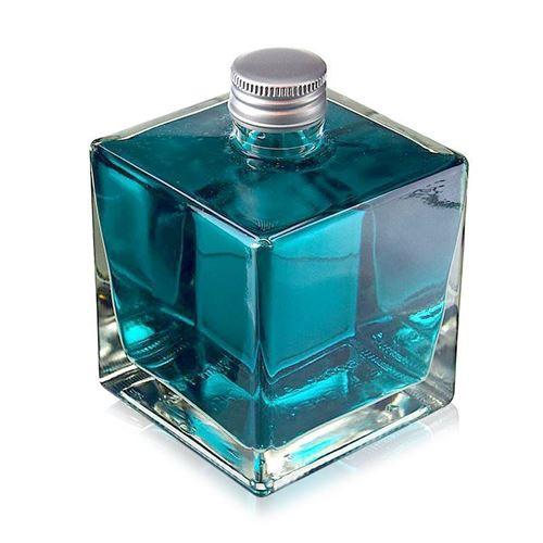 "500ml schroef deksel fles ""Cube"""