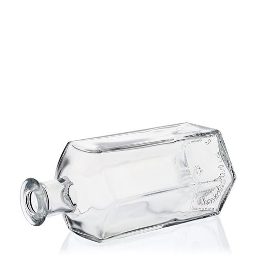 "500ml sechseckige Apothekerflasche ""Jimmy"""