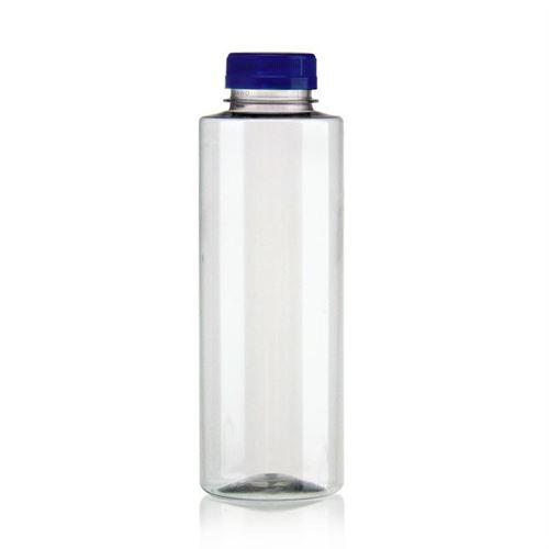 "500ml Botella PET con gollete ancho ""Everytime"" azul"