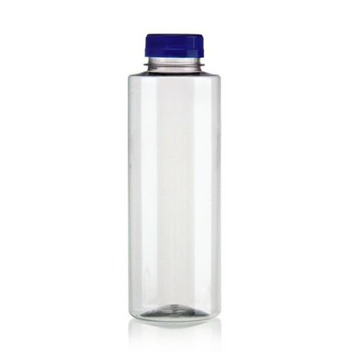"500ml Bottiglia PET a collo largo ""Everytime"" blu"