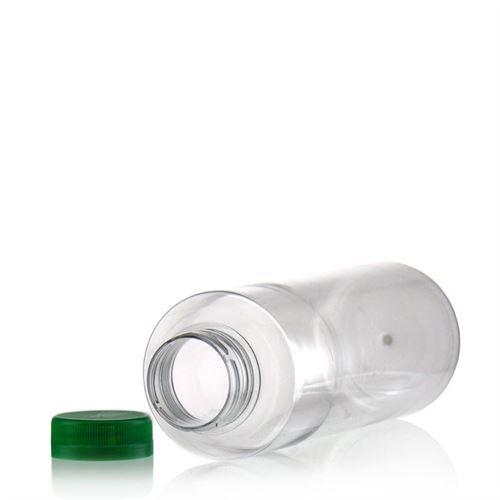 """500ml Bottiglia PET a collo largo """"Everytime"""" verde"""