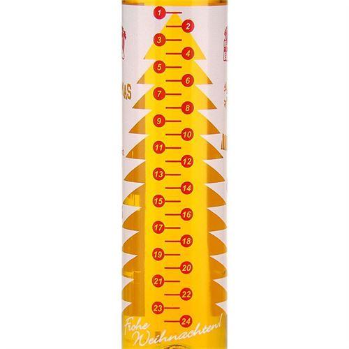 """500ml Bottiglia con Calendario Natalizio """"Advento"""""""
