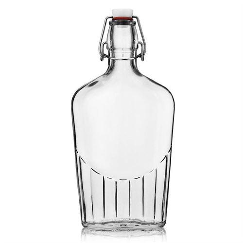 """500ml Bottiglia con chiusura meccanica """"Filippo"""""""