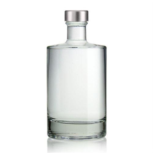 """500ml Bottiglia in vetro chiaro """"Aventura""""  con chiusura GPI"""
