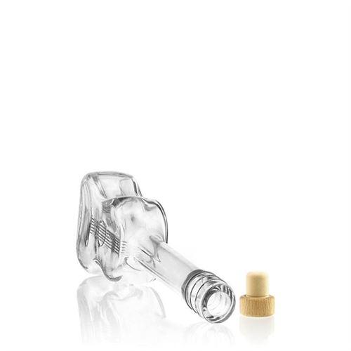 "500ml Bottiglia in vetro chiaro ""Chitarra"""