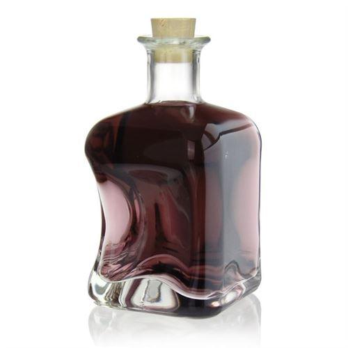 "500ml Bottiglia in vetro chiaro ""Dublin"""