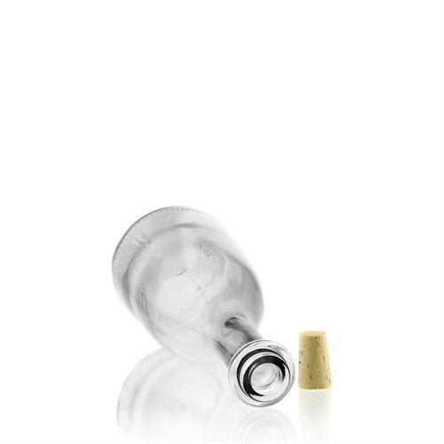 """500ml Bottiglia in vetro chiaro """"Rustica"""""""
