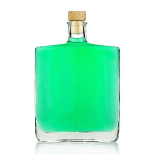 """500ml Bottiglia in vetro chiaro """"Zorbas"""""""