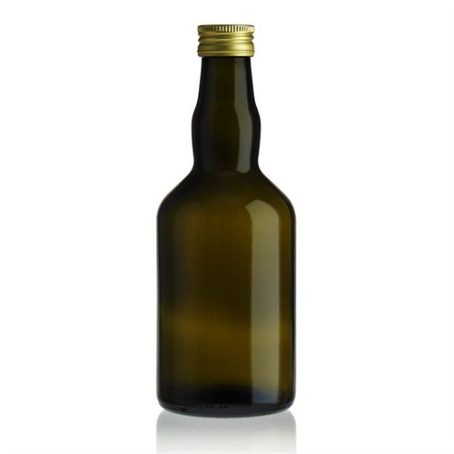 "500ml Bottiglia verde antica ""Glasgow"""