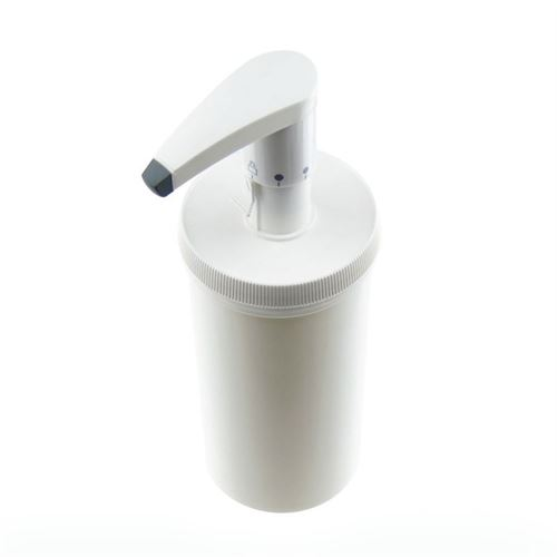 655ml Dispenserpumpe mit Securibox weiß (HVDS)