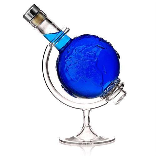 "500ml Klarglasflasche ""Globus"""