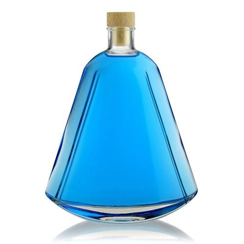 "500ml Klarglasflasche ""Maurizio"""