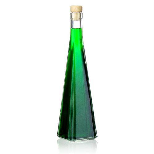 "500ml Klarglasflasche ""Quadrato"""
