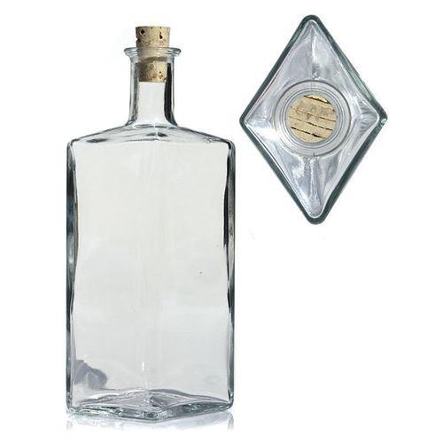"""500ml Klarglasflasche """"Riva"""""""