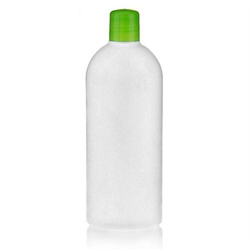 """500ml HDPE-flaske """"Tuffy"""" grøn med sprøjteindsats"""