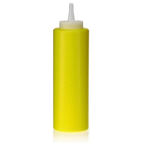 "500ml LDPE-fles""Yellow"" met sproeituit"