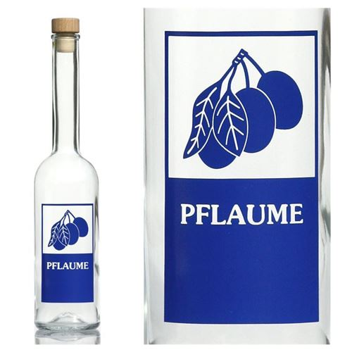 500ml opera flasche pflaume. Black Bedroom Furniture Sets. Home Design Ideas
