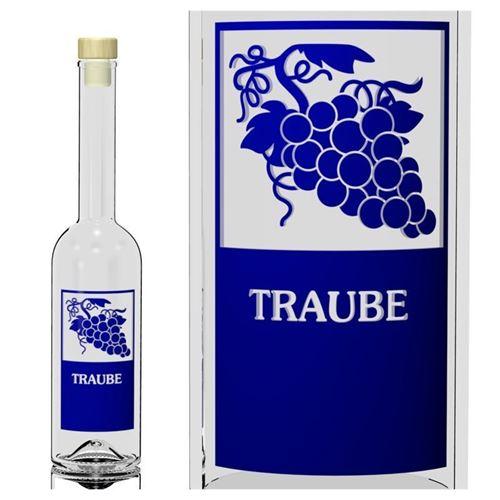 "500ml Opera-Flasche ""Traube"""