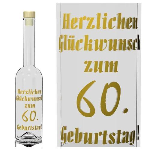 500ml Opera Geburtstagsflasche 60 Jahre