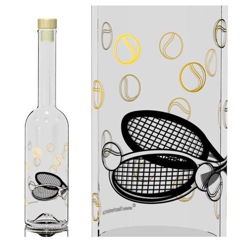 "500ml Opera-flaske ""Tennis"""