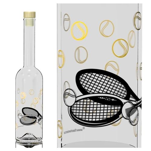 "500ml Opera fles ""tennis"""