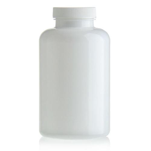 500ml PET packer-fles wit