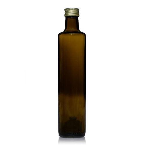 "500ml antikgrøn flaske ""Dorica"""