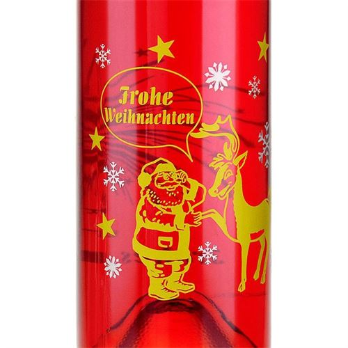 """500ml bedruckte Opera """"Weihnachts- und Neujahrsflasche"""""""
