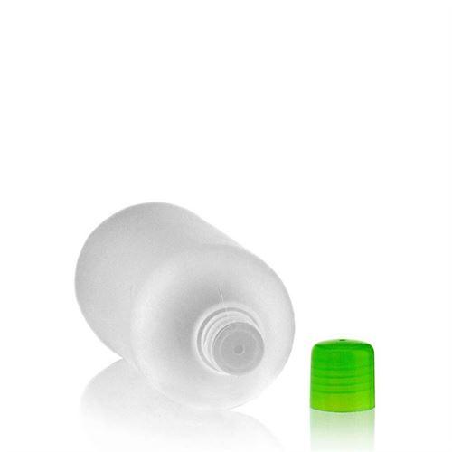 """500ml bottiglia HDPE """"Tuffy"""" verde con chiusura a spruzzo"""