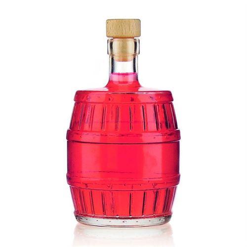 """500ml bottiglia con tappo in sughero """"Barrile"""""""